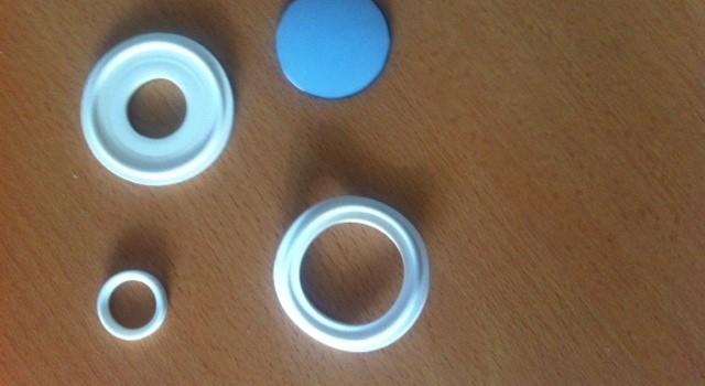 Guarnizioni Tri Clamp in silicone e teflon silicone